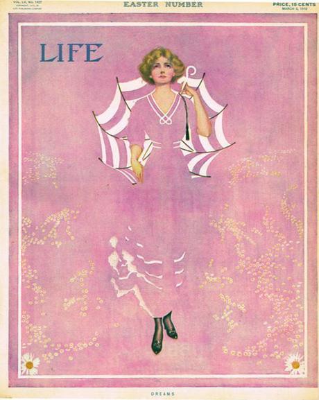 portada de la revista Life, ilustrada por Coles Phillips en 1910