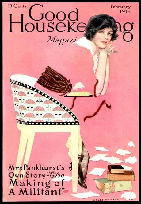 portada de la revista Good Housekeeping, febrero de 1914