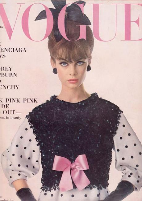 portada de la revista Vogue, abril de 1963