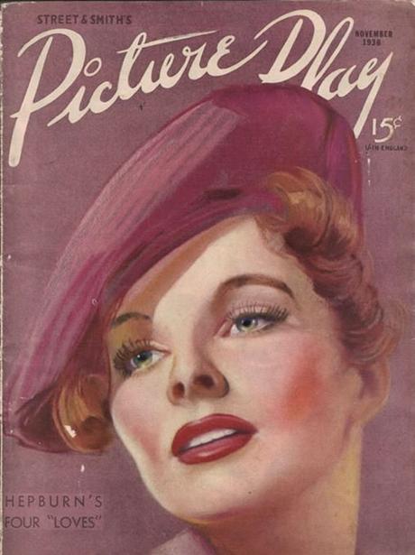 portada de la revista Picture Play, noviembre de 1936