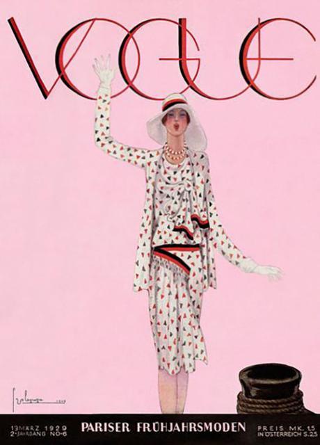 portada de la revista Vogue, marzo de 1929