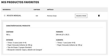 CEVAGRAF lanza su nuevo sistema de Favoritos