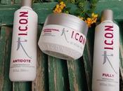 I.c.o.n, tres productos para cabello usado últimos meses