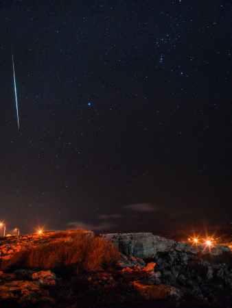 El cometa Halley nos visita en forma de decenas de estrellas fugaces: Las Oriónidas