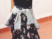Cómo combinar falda plisada