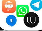 Principales aplicaciones mensajería instantánea: WhatsApp, Telegram, Signal, Confide, Wire