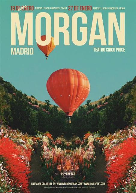 Doblete de Morgan en enero en el Teatro Circo Price de Madrid