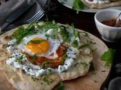 Naan Integral Ajo, base gran desayuno turco
