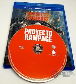 Proyecto Rampage, Análisis de la edición en Bluray