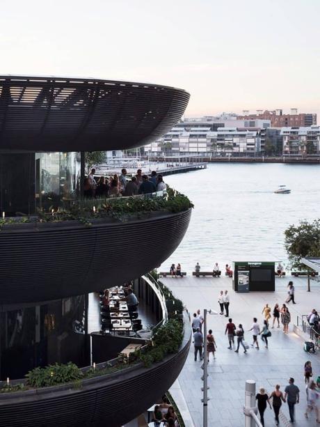 Edificio con jardín comestible en Australia