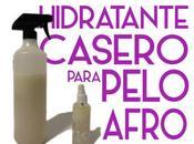 Hidratante casero para pelo afro