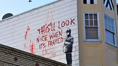 ¿Es Banksy quien trolea al capitalismo o el capitalismo el que trolea a Banksy?