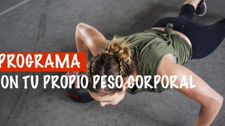 Programa de entrenamiento  con el peso corporal