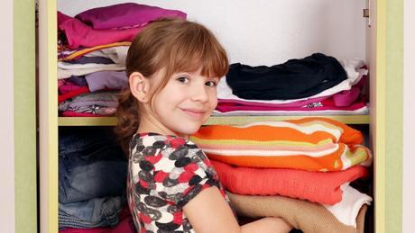 ¿Qué hacer con la ropa de los niñ@s tras los cambios de armarios?