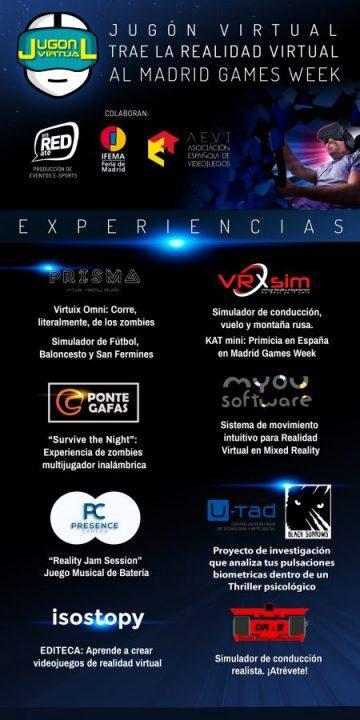Jugón Virtual confirma su asistencia a la Madrid Games Week