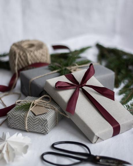 Consigue un packaging Chic para realizar regalos.