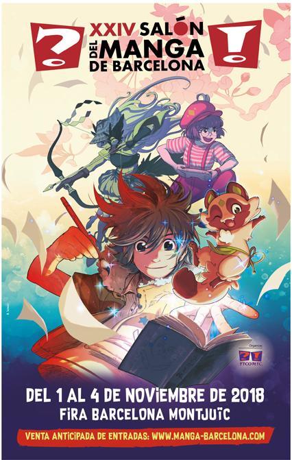 La cuenta atrás para el XXIV Salón del Manga de Barcelona: ¿Qué nos espera en esta edición?