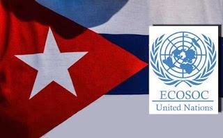 Farsa política en ECOSOC, provocación contra Cuba