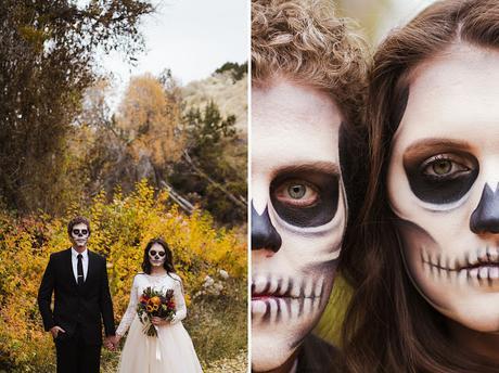 Inspiración Fotos Novios Halloween