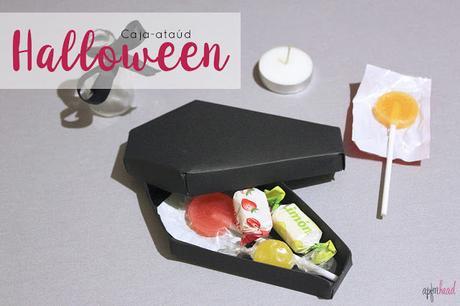 Halloween: DIY+Freebie Caja ataúd