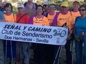 club Señal Camino Marcha Nacional Montañeros Veteranos Encuentro Andaluz veterano Mojacar