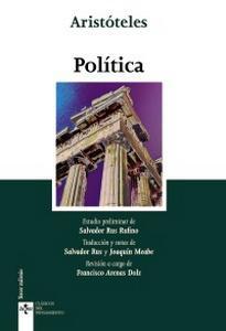"""""""Política"""", de Aristóteles"""
