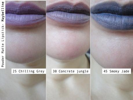 Powder Matte Lipstick de Maybelline: esos raros colores nuevos.