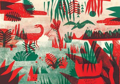 El mundo de los dinosaurios (y un gato) de Florencia Gavilán