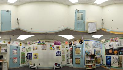 Los aulas excesivamente decoradas disminuyen la atención y precisión de los niños