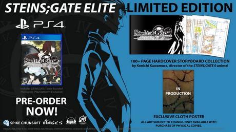 Anunciada la Edición Limitada de Steins;Gate Elite y su contenido adicional
