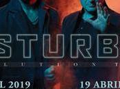 Conciertos Disturbed Riviera Razzmatazz abril 2019 presentando nuevo álbum