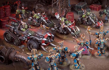 Resumen muy rápido de Warhammer Community hoy