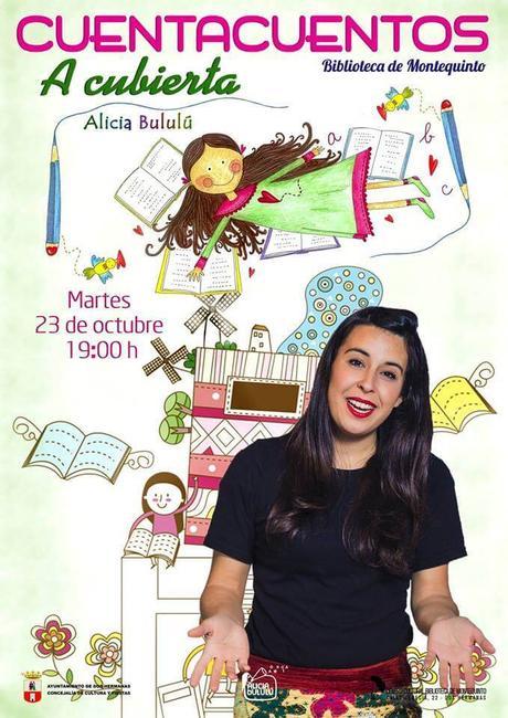 """Las Bibliotecas Cuentan """"A cubierta"""" con Alicia Bululú"""