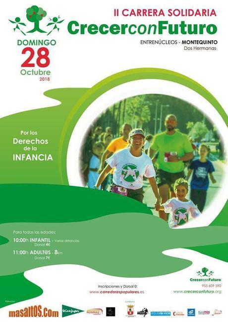 Últimos días para participar en la II Carrera Solidaria Crecer con Futuro