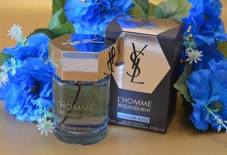 """El Perfume del Mes – """"L'Homme Cologne Bleue"""" de YVES SAINT LAURENT"""