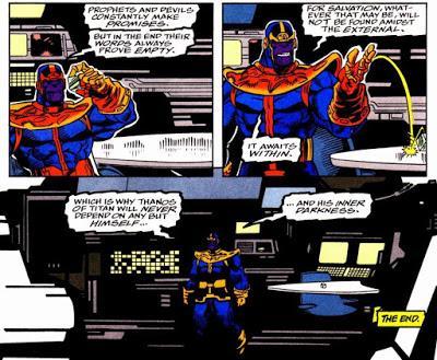 El Thanos de Starlin V: héroe honorable (La Cruzada del Infinito)