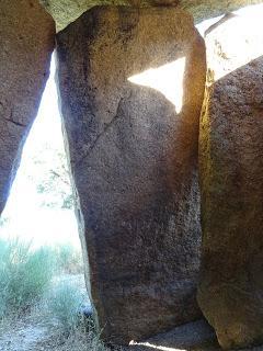 Imagen del mes: Dolmen Tapias I, en Valencia de Alcántara