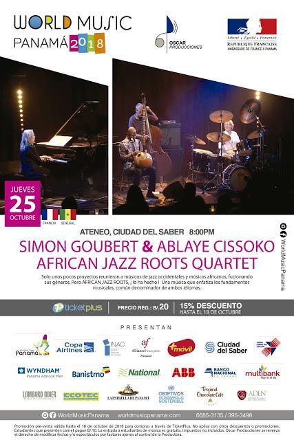 Simon Goubert & Ablaye Cissoko African Jazz Roots Quartet