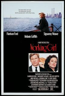 Armas de mujer (Working girl, Mike Nichols, 1988. EEUU)