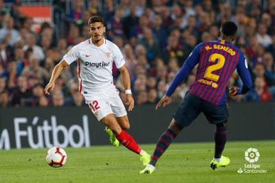 Crónica FC Barcelona 4 - Sevilla FC 2