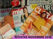 Revistas Noviembre 2018 (Regalos, Suscripciones viene)
