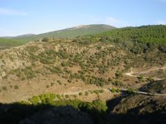 El cañón del río Vallosera