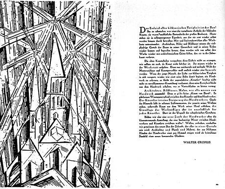 WALTER GROPIUS Weimar, Abril de 1919 Manifiesto Fundacional de la Bauhaus