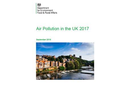 Reino Unido: Informe de Calidad del Aire 2017