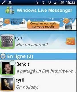 messenger 2011 clubic