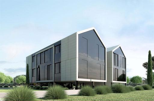 A cero presenta un nuevo proyecto de viviendas modulares en el escorial madrid paperblog - Casas modulares madrid ...