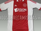 Nuevas camisetas (local visitante) Adidas Ajax; temporada 2011-2012
