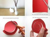 Cómo hacer ramo papel