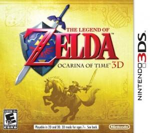[3DS] Fecha y portada de Ocarina of Time 3D