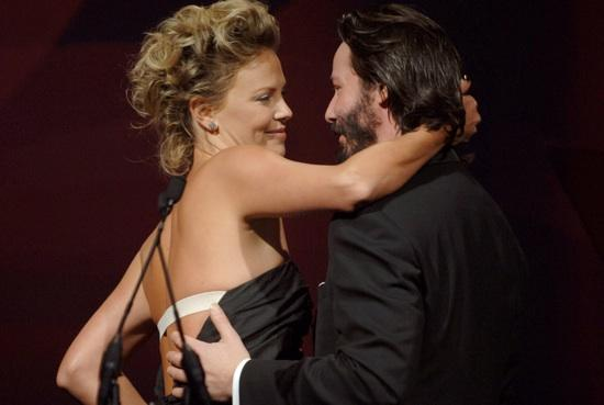 Keanu Reeves And Charlize Theron The Newest Hollywood Couple Pictures